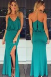 Gold-Chain-Halter-Maxi-Dress-with-T-Back-LC60130